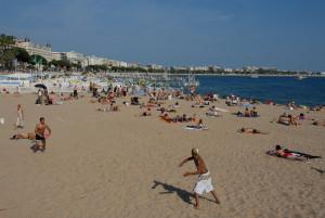 Городской пляж Канн